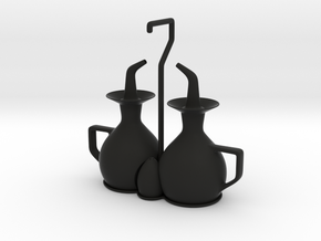 cruet set in Black Strong & Flexible
