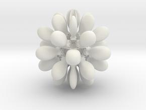 Juliabulb z^(-6) in White Natural Versatile Plastic