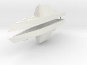 Zumwalt Class Destroyer 1:2400 x2 in White Strong & Flexible
