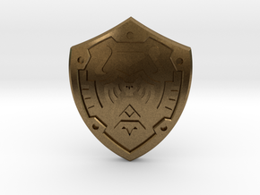 Hero's Shield I in Natural Bronze