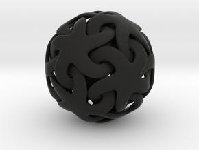Linking Stars - 5 cm in Black Strong & Flexible