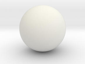 Sphere in White Strong & Flexible