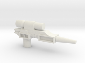 Classics pistol model one in White Strong & Flexible