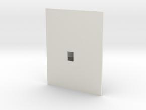 Plattegrond van een zolder in White Natural Versatile Plastic