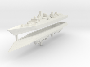 Type 052B 1:2400 x2 in White Strong & Flexible