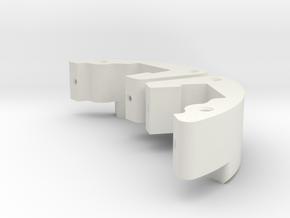 SB5 Special Brake Servo Holder in White Strong & Flexible