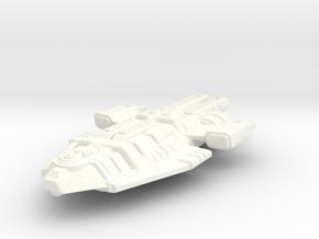 Starship Larger in White Processed Versatile Plastic