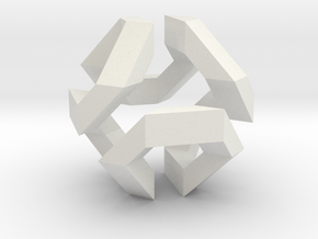 Hamilton Cycle on Truncated Octahedron in White Natural Versatile Plastic
