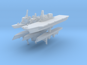 JMSDF Fleet Pack 1:6000 (6 Ships) in Frosted Ultra Detail
