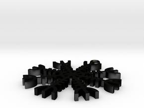 aegishjalmur in Matte Black Steel