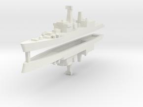 Brahmaputra 1:2400 x2 in White Natural Versatile Plastic