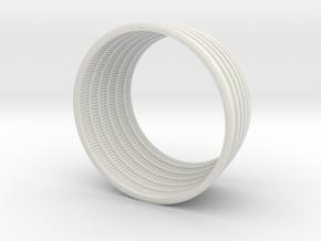 F1 Engine 1:48 Scale Bottom in White Natural Versatile Plastic
