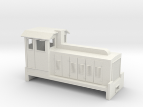 HOn30 Australian Sugar Cane Locomotive  in White Natural Versatile Plastic