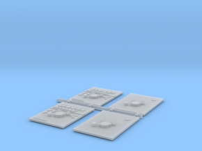 Pump Panels in Smooth Fine Detail Plastic