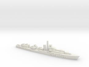 HMS Barfleur (Battle class) 1:1800 in White Natural Versatile Plastic