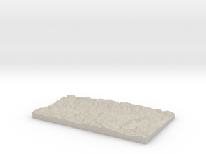 Model of Rabius in Natural Sandstone