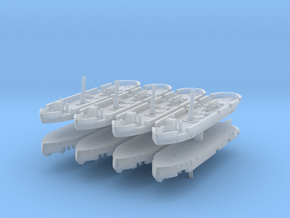 Dapper Class Gunboat 1:1200 in Smooth Fine Detail Plastic