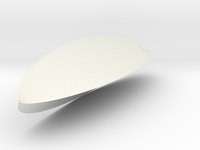 TriDeltoid Long in White Natural Versatile Plastic