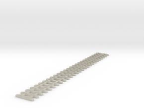 Schwellenrost Ne Länge 95mm in White Acrylic