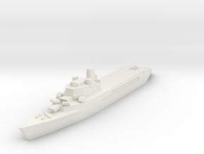 Jeanne d'Arc helicopter cruiser 1:3000 x1 in White Natural Versatile Plastic