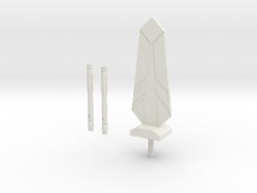 Sunlink - Stronghold Upgrade Kit v1 - TFCon in White Natural Versatile Plastic