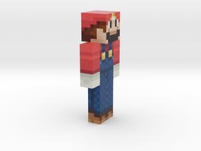 6cm   Mario in Full Color Sandstone