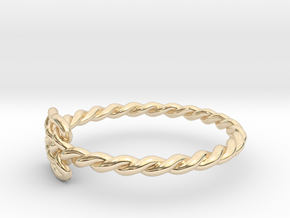 Celtic Ring - Size 7 in 14K Yellow Gold