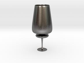 Cupfoo in Polished Nickel Steel