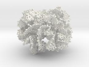 {3,8} radius 3 with boundary hinges in White Natural Versatile Plastic