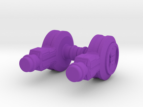 Servo Hips in Purple Strong & Flexible Polished