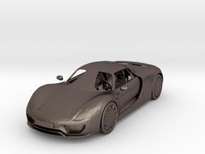2015 Porsche 918 Spyder  in Polished Bronzed Silver Steel