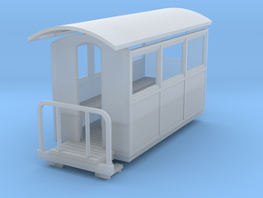 009 small closed  coach in Smooth Fine Detail Plastic