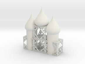 betaholey cathedral 3stacked in White Natural Versatile Plastic