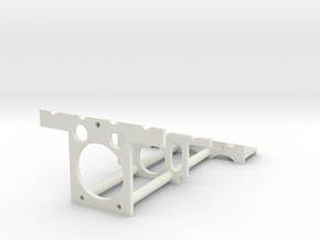 NMR Tube Stand Trimmed Down in White Natural Versatile Plastic