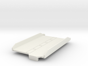 Metro Ramp v1.2 in White Natural Versatile Plastic