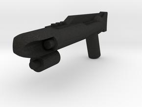 Scuba Trooper Rifle in Black Acrylic