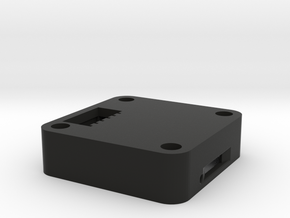 OpenPilot CopterControl Case upper v1 in Black Strong & Flexible