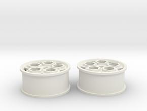final white roller2 in White Natural Versatile Plastic