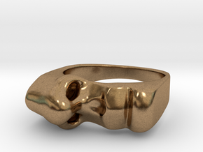 Taste and Smell ring in Natural Brass: 7 / 54