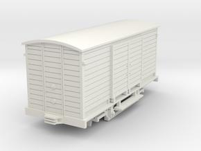 Güterwagen Thüringerwaldbahn H0m in White Natural Versatile Plastic