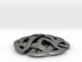 Celtic Knot Small in Polished Silver