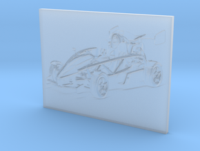 Aerial Atom V8 (3D Portrait) in Smooth Fine Detail Plastic
