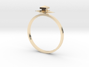 Temple Ring - Sz. 8 in 14K Gold