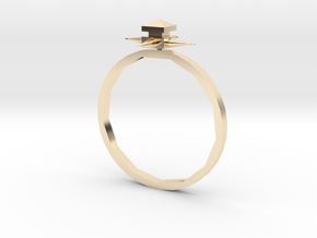Temple Ring - Sz. 5 in 14K Yellow Gold