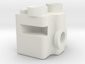 QuartetMountsEyeHook 111002 in White Natural Versatile Plastic