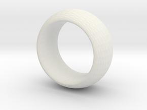 sinoidring hexagonal texture large in White Natural Versatile Plastic