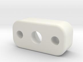 MagnetMount in White Natural Versatile Plastic