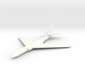 1/285 (6mm) Tu-16 Bomber in White Strong & Flexible Polished