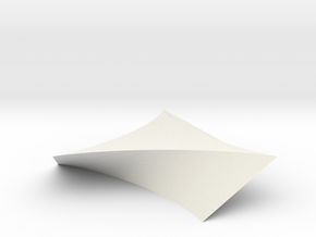 twisted deltoid in White Natural Versatile Plastic