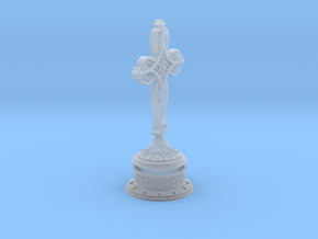 Decorative Cross with hollow base in Smooth Fine Detail Plastic